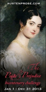 Pride and Prejudice Bicentenary Challenge for 2013**